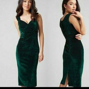 Lady Love Song Velvet Dress Mod Cloth